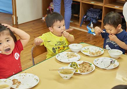昼食の写真