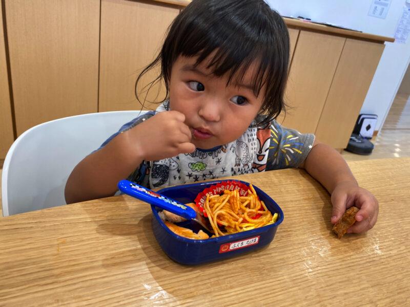 【わかたけ北】初めてのお弁当🍙の写真