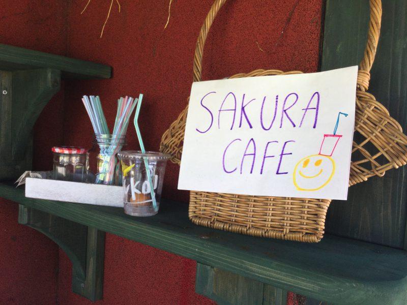 カフェごっこの写真