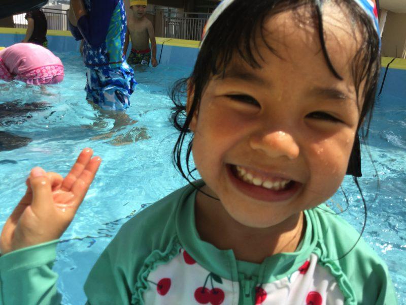 プール遊び大好き!の写真
