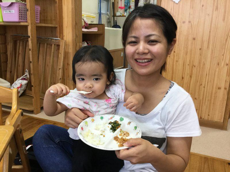 給食試食会【8月】の写真