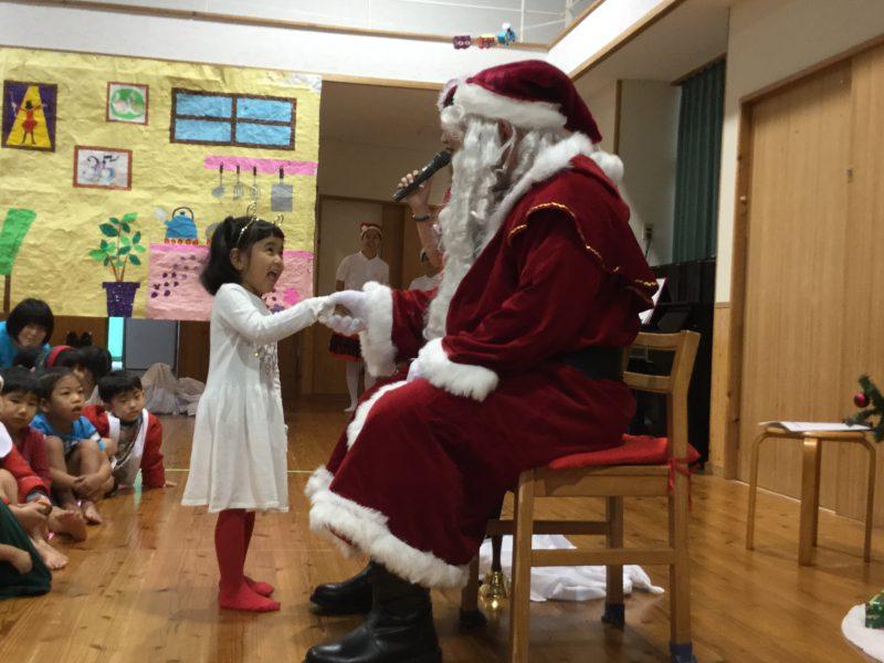 サンタクロースがやってきた!の写真