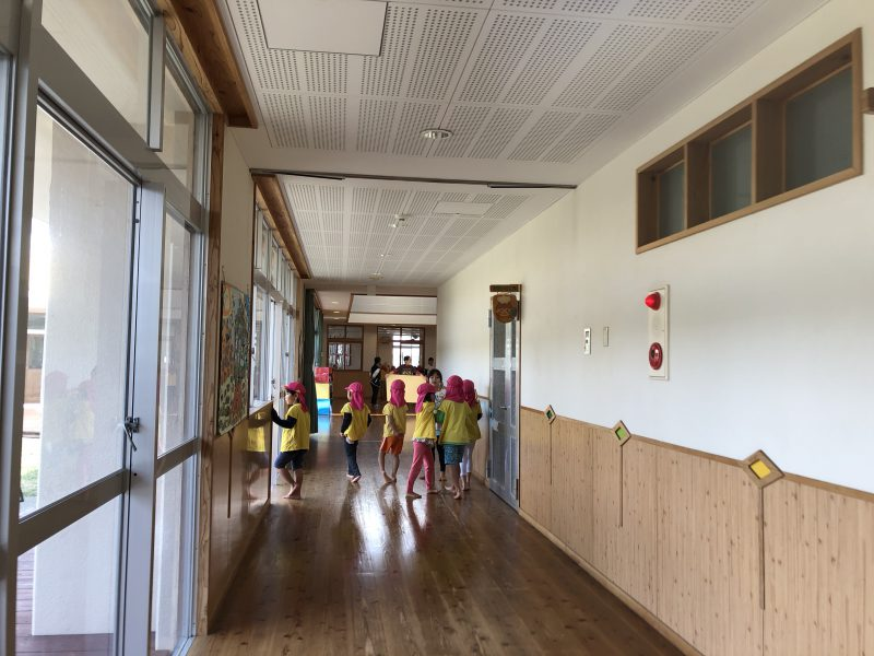 幼稚園のお友達がやって来た!の写真